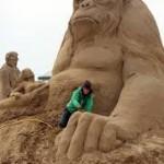 zansculptuur aap