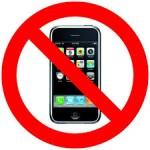 telefoon verboden